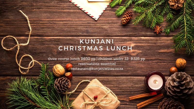 Christmas Lunch at Kunjani
